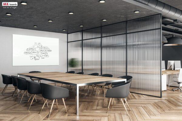 Stiilne koosolekuruum magnettahvliga