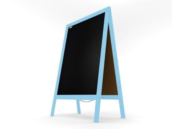 Harkjalg puitraam värvitud sinine